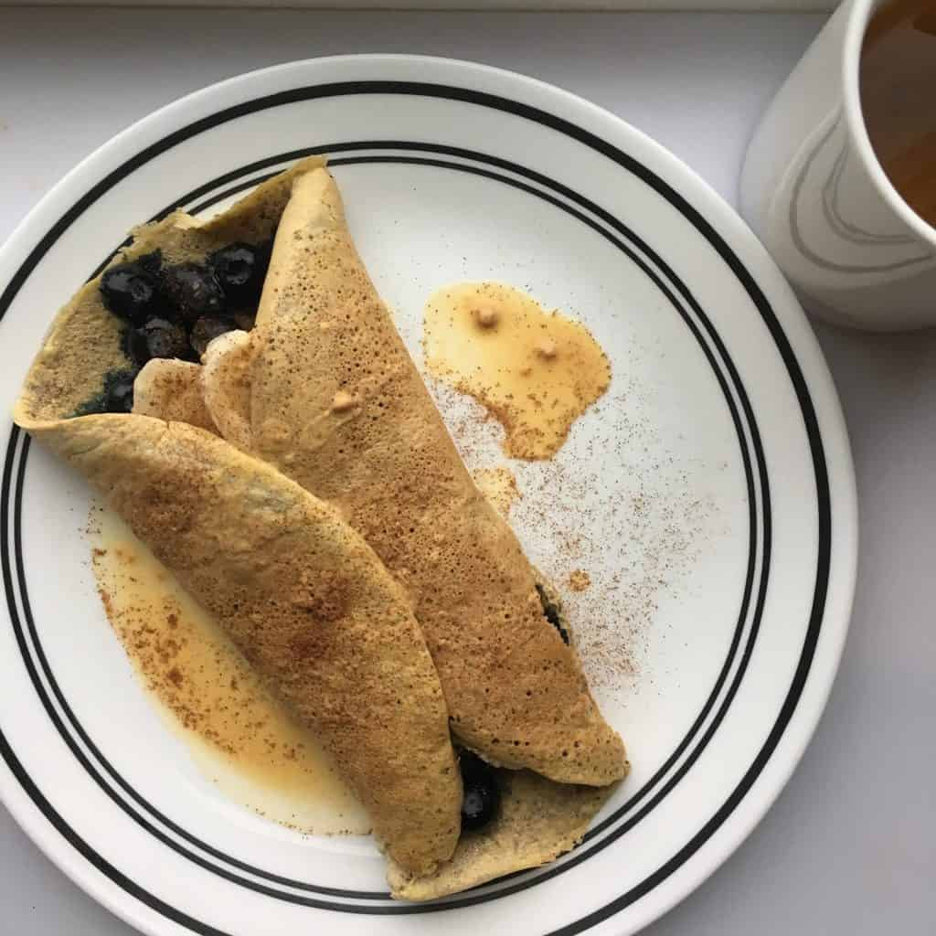 4 Ingredient Single-Serving Crepe