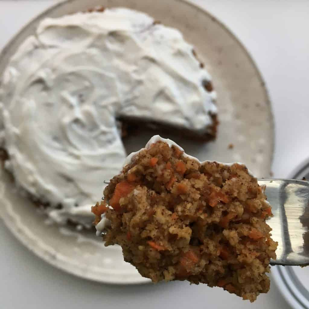 Healthified Carrot Cake {Gluten Free, Refined-Sugar Free}