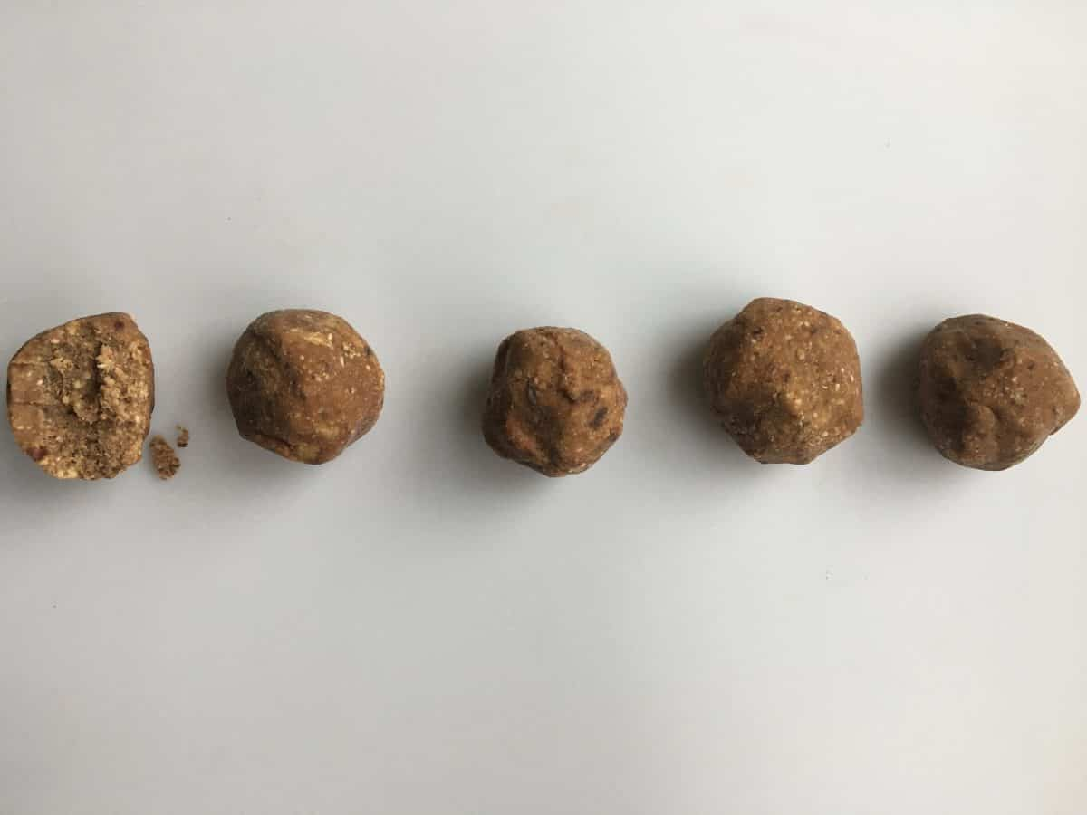 100% Sugar Free PB Fudge Balls {Gluten-free, Vegan}