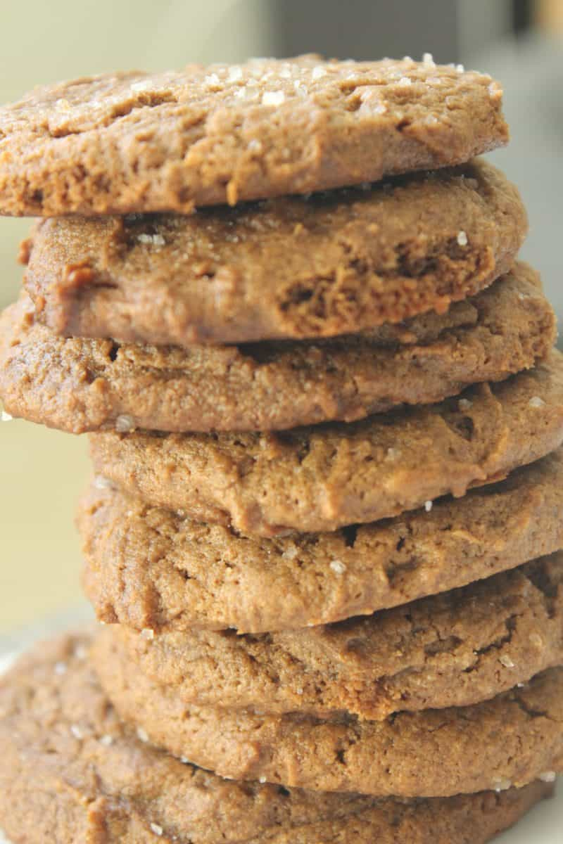 Paleo Salted Almond Cookies