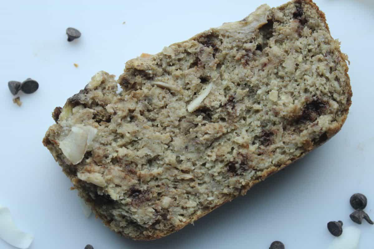 Healthiest Sugar-free Oat Banana Bread