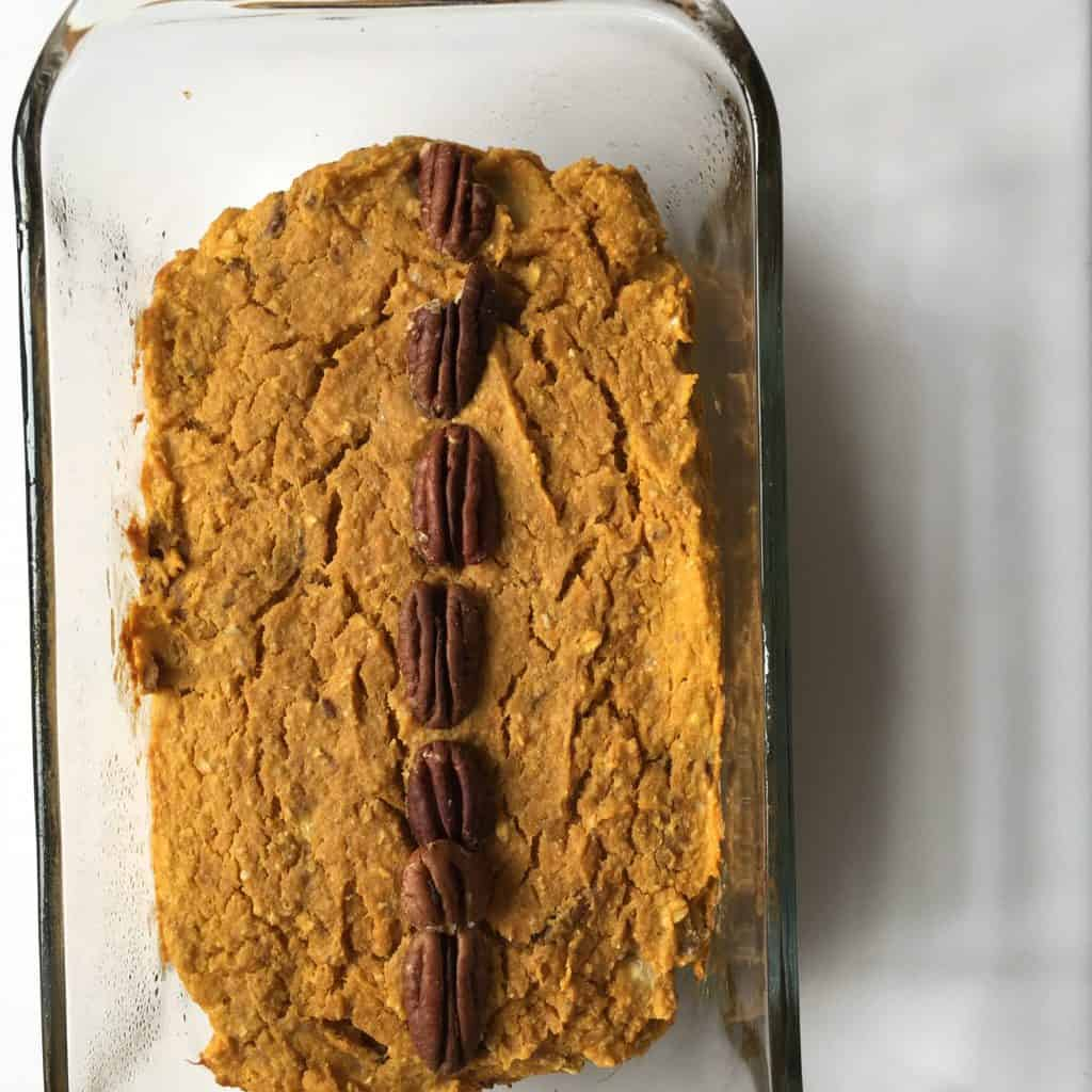 Healthy Sweet Potato Bread {Gluten Free, Sugar Free, Oil Free, Vegan Option}