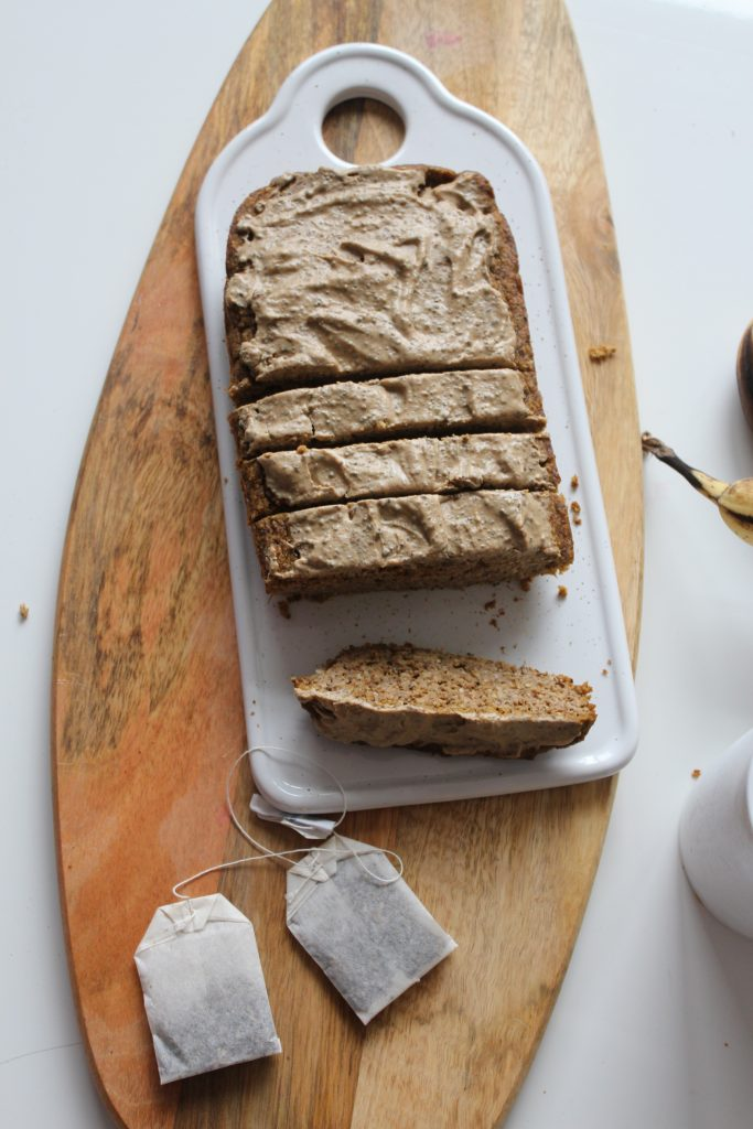 healthy chai spice pumpkin bread