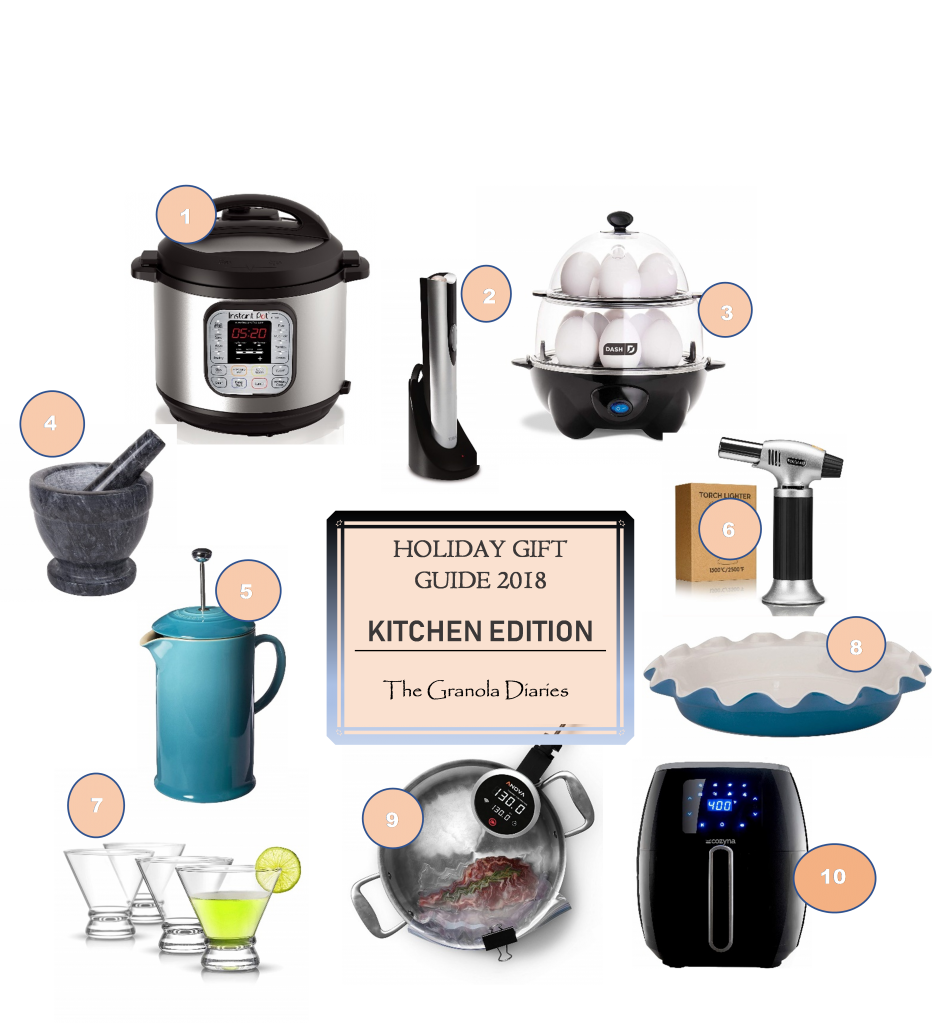 holiday gift guide chef kitchen 2018