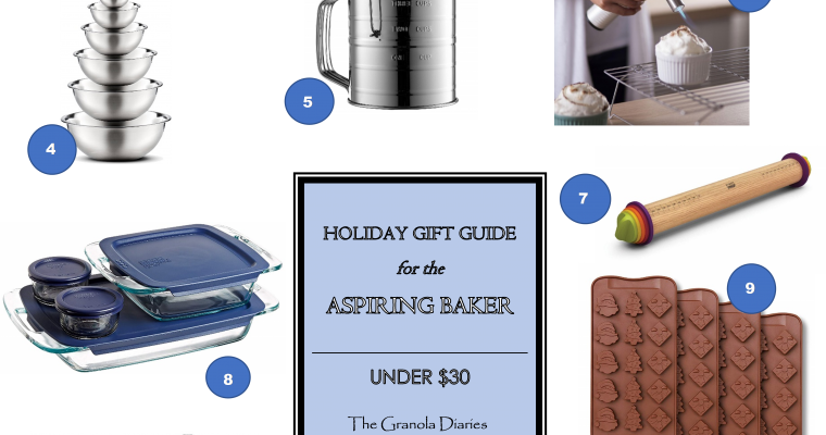 Gift Guide for the Aspiring Baker (Under $30)