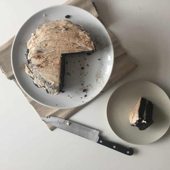 Healthy Chocolate Hazelnut Cake