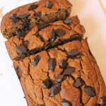 Healthy Pumpkin Banana Bread you can make with just 5 main ingredients, using a blender! No hand mixing or bowl cleaning required. Gluten Free & Vegan Option!