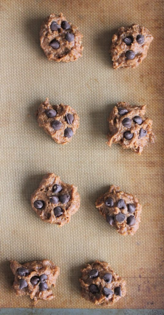 Pre-baked almond butter cookies, gluten free and dairy free
