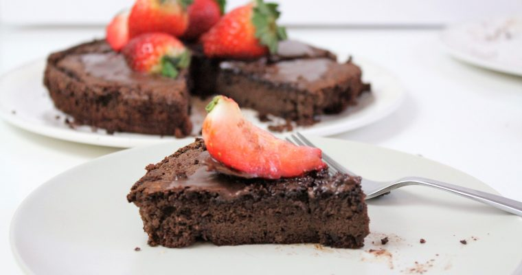 Flourless Chocolate Cake (GF & DF)