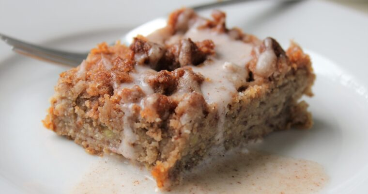 Banana Coffee Cake (Vegan)