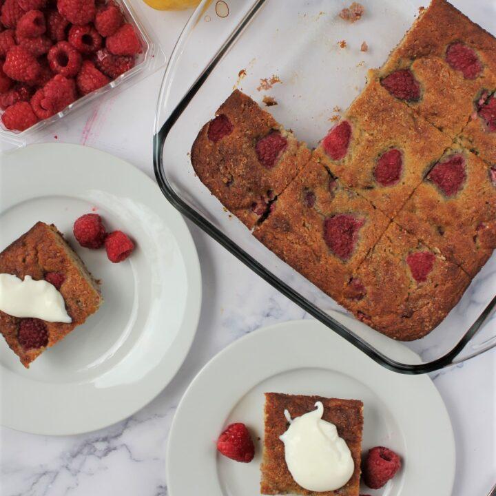 Summer Raspberry Cake